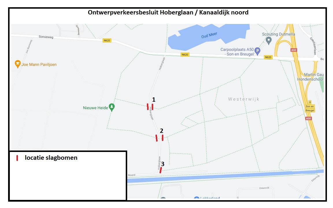 Parkeerplaatsen HOP Hoberglaan